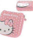 custodia hello kitty porta cd dvd multiplo