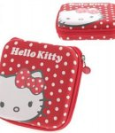 custodia hello kitty rossa porta cd
