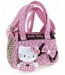 Borsa Bauletto Hello Kitty c-tracolla pink&brown