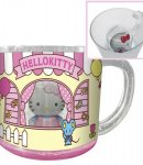 bicchiere hello kitty c-mascot house