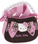 Borsa Hello Kitty a mano con tracolla pink&brown