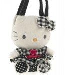 borsa hello kitty plush poupette S black i love you