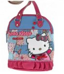 Borsa Round Shopper Love Hello Kitty Azzurro