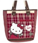 Borsa Sporta Campus Hello Kitty Red