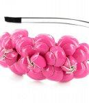 cerchietto camomilla flower jam pink