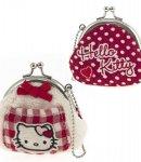 portamonete hello kitty coin purse i love you red