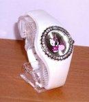 orologio hello kitty silicon diamante bianco