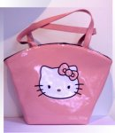 borsa hello kitty powder rosa