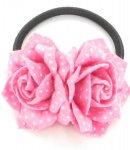 fermacoda camomilla felt rose dots pink