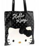 borsa flat shopper city hello kitty black