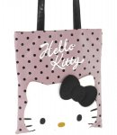 borsa flat shopper city hello kitty pink