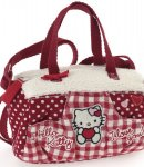 borsa hello kitty  mini bauletto i love you red