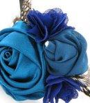 molletta spilla camomilla garden blue