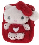 Pochette Pouch case Hello Kitty Marshmallow Red