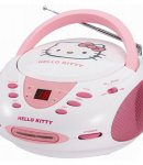 stereo radio cd hello kitty