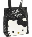 borsa shopper L city hello kitty black