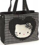 borsa hello kitty shopper L i love you black