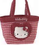 borsa hello kitty shopper M i love you red