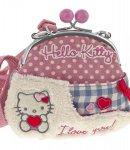 borsa hello kitty shoulder purse i love you pink