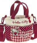 borsa hello kitty sportina i love you red