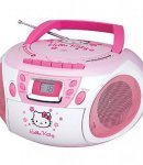 stereo radio cd hello kitty NON DISPONIBILE