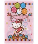 tappeto hello kitty  100x150 palloni