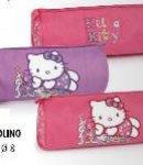 astuccio tombolino hello kitty viola flowers nuova collezione 2013