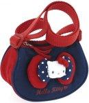 Borsa Tracolla Hello Kitty c-doppio Fiocco red&blue