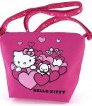 Borsa Hello Kitty Tracollina Heart S Pink