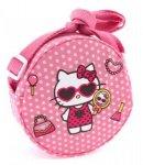 borsa hello kitty tracollina round dotty d.pink