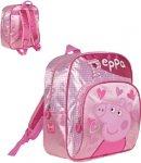 Zaino Peppa Pig con Doppia zip 29 cm