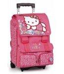 zaino trolley hello kitty manico allungabile fucsia nuova collezione 2013