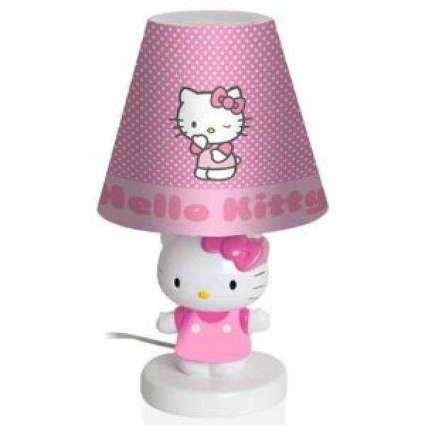 novita 39 lampada da cameretta hello kitty nuova in. Black Bedroom Furniture Sets. Home Design Ideas
