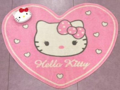 tappeto hello kitty cuore