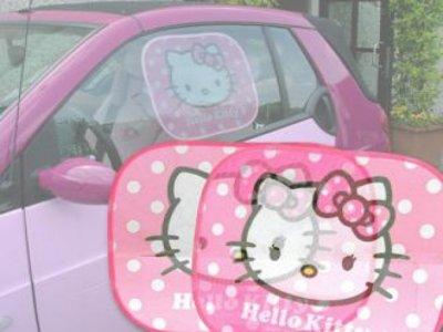 tendine parasole hello kitty per auto