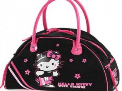 borsa hello kitty the show sport bag