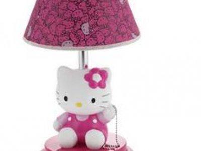 lampada hello kitty abat jour