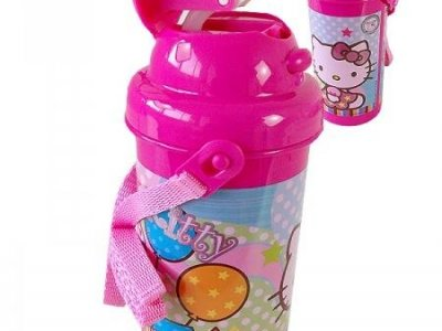 borraccia hello kitty con tracollina
