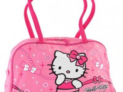 Borsa Hello Kitty Boston Jewerly Pink