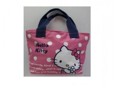 Borsa hello kitty flower pink