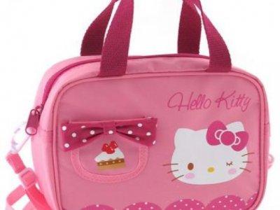 borsa hello kitty a mano e tracolla pink