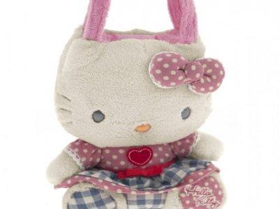 borsa hello kitty plush poupette S pink i love you