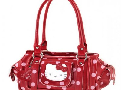borsa hello kitty rossa