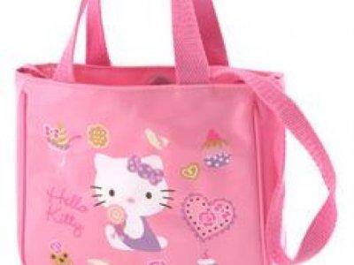borsa hello kitty S con tracolla pink
