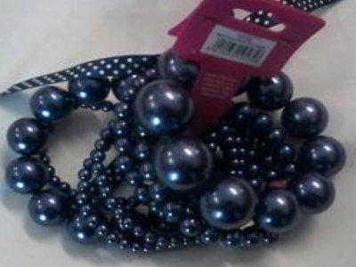bracciale camomilla pearl falls blue