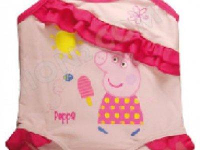 Costume Intero Bambina Rosa 1-2-4 anni Peppa Pig