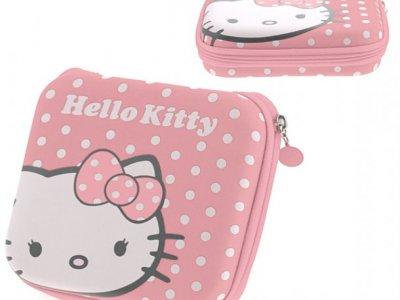 custodia hello kitty porta cd