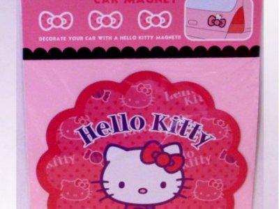 magnete per auto hello kitty