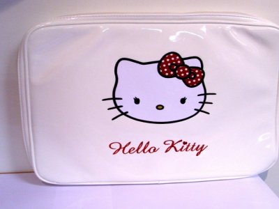 Custodia pc Hello Kitty bianco