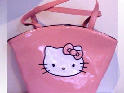 borsa hello kitty powder rosa